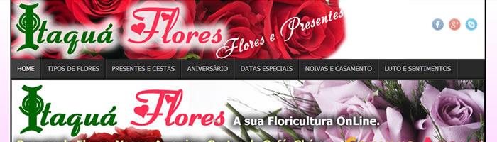 Itaquá Flores. A floricultura on Line de Itaquaquecetuba!